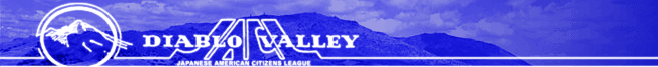 Diablo Valley JACL - Japanese American Citizens League